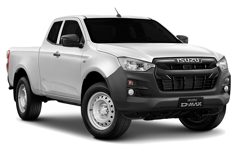 Splash White Isuzu D-Max Space N57