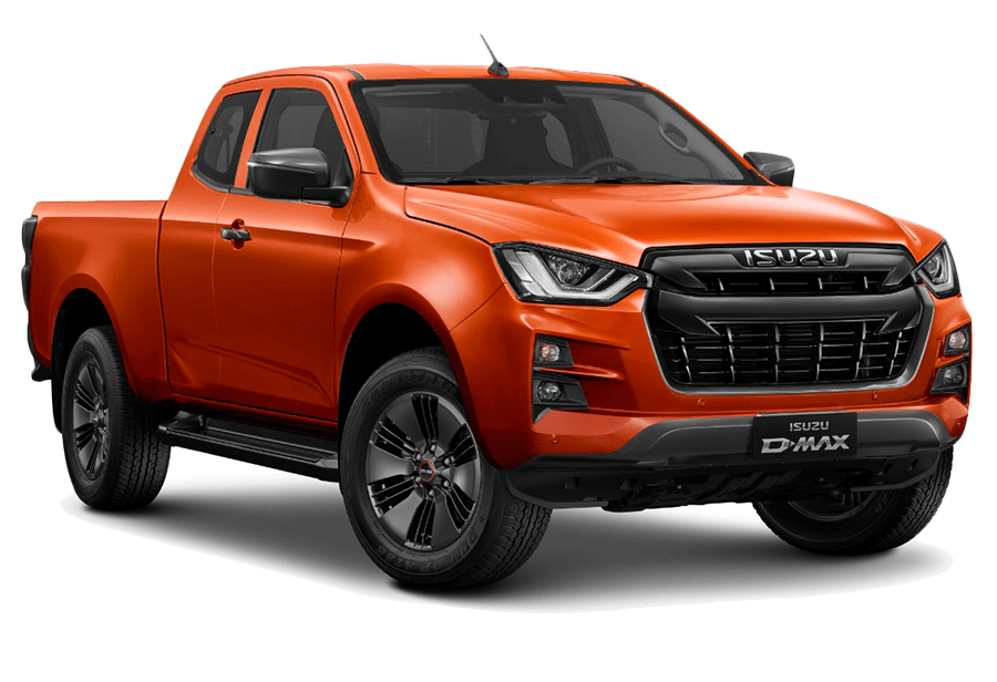 ISUZU D-Max Valencia orange Metallic front SPACE N60FF