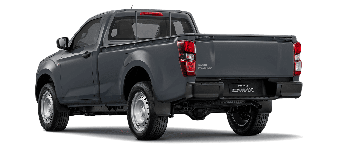 ISUZU_D-Max_SINGLE_N60B_Obsidian Gray_Back