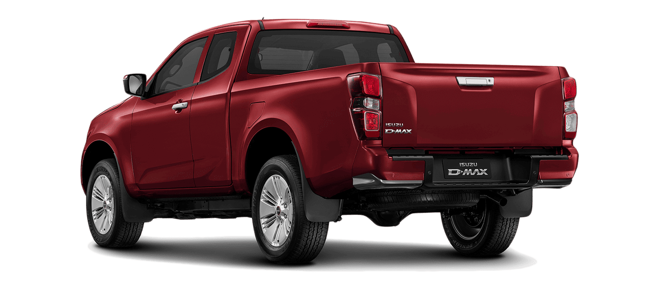 ISUZU_D-Max_SPACE_N60BB_Red Spinel Mica_back