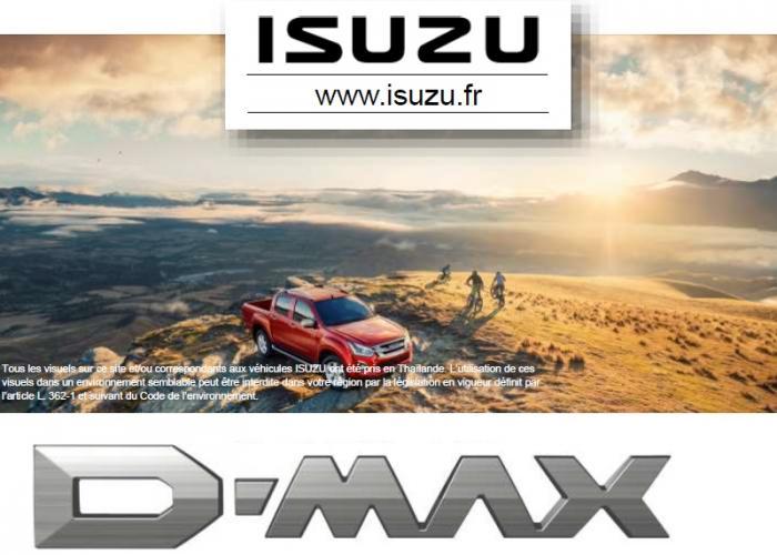 Brochure nouveau D-Max, Novembre 2018