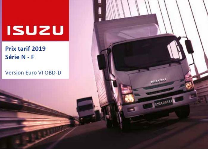 Catalogue Série N-F Euro VI OBD-D, Septembre 2019