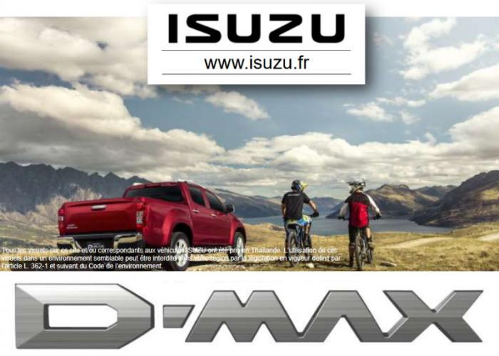 Isuzu D-Max catalogue