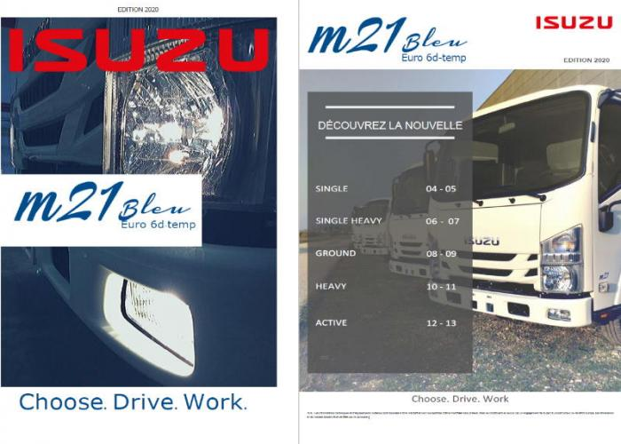 Catalogue Isuzu M21 Juillet 2020