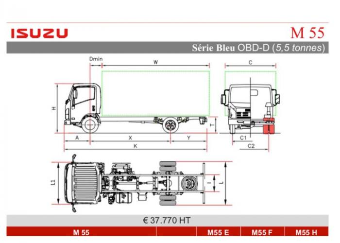 Catalogue Isuzu M55