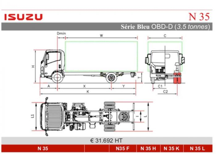 Catalogue Isuzu N35