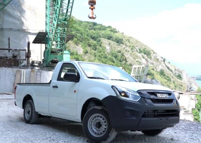 Nuovo Isuzu D-Max Single Satellite