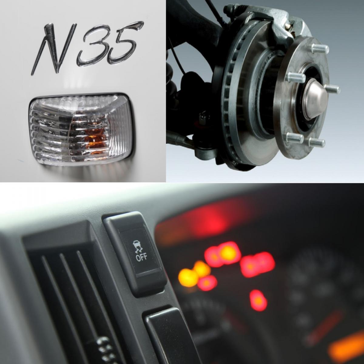 Isuzu N35 Sicurezza